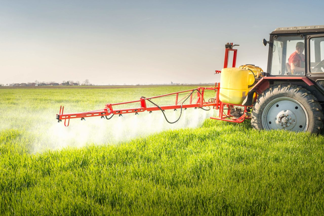 résidus de pesticides